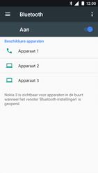 Nokia 3 - WiFi en Bluetooth - Bluetooth koppelen - Stap 6