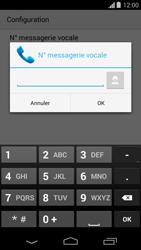 Motorola Moto G - Messagerie vocale - configuration manuelle - Étape 10