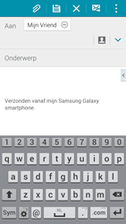 Samsung G900F Galaxy S5 - E-mail - Bericht met attachment versturen - Stap 8
