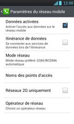 LG P700 Optimus L7 - Internet - Configuration manuelle - Étape 7