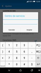 HTC One M9 - Mensajería - Configurar el equipo para mensajes de texto - Paso 9