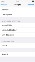 Apple iPhone 5s - E-mail - Configuration manuelle - Étape 23