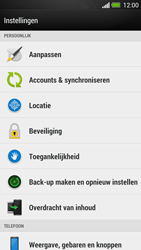 HTC One - Instellingen aanpassen - Fabrieksinstellingen terugzetten - Stap 4