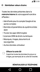 LG X Power - Device maintenance - Retour aux réglages usine - Étape 7