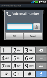 LG P990 Optimus 2X Speed - Voicemail - Manual configuration - Step 7