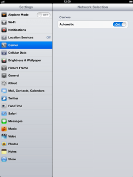 Apple The New iPad - Network - Usage across the border - Step 4