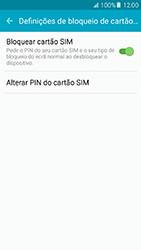 Samsung Galaxy A5 (2016) (A510F) - Segurança - Como ativar o código PIN do cartão de telemóvel -  9
