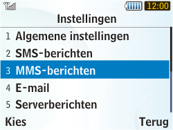 Samsung S3350 Chat 335 - MMS - probleem met ontvangen - Stap 7