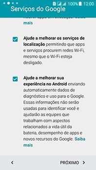 Samsung Galaxy J7 - Primeiros passos - Como ativar seu aparelho - Etapa 13