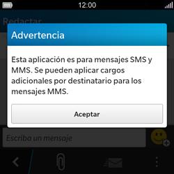 BlackBerry Q5 - Mensajería - Escribir y enviar un mensaje multimedia - Paso 4