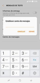 Samsung Galaxy S8 - Mensajería - Configurar el equipo para mensajes de texto - Paso 9
