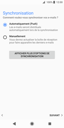 Sony Xperia XZ2 Compact - E-mail - Configuration manuelle (outlook) - Étape 14