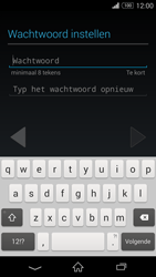 Sony D5803 Xperia Z3 Compact - Applicaties - Account aanmaken - Stap 10