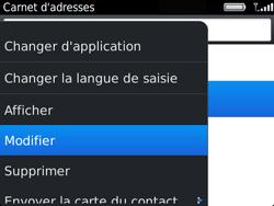 BlackBerry 9720 - Contact, Appels, SMS/MMS - Ajouter un contact - Étape 10