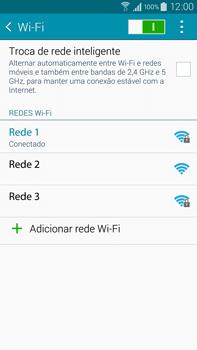 Samsung N910F Galaxy Note 4 - Wi-Fi - Como configurar uma rede wi fi - Etapa 8
