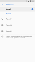 Nokia 8 (SingleSim) - Bluetooth - Jumeler avec un appareil - Étape 7