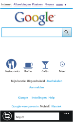 Nokia Lumia 610 - Internet - Hoe te internetten - Stap 4