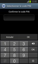 Samsung Galaxy S2 - Sécuriser votre mobile - Activer le code de verrouillage - Étape 10