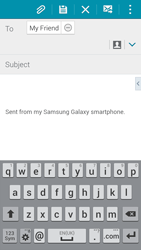 Samsung G850F Galaxy Alpha - E-mail - Sending emails - Step 8