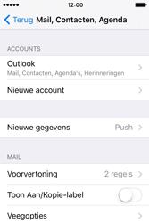 Apple iPhone 4 S iOS 9 - E-mail - Handmatig instellen - Stap 9