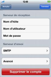 Apple iPhone 4 S - E-mail - Configuration manuelle - Étape 14