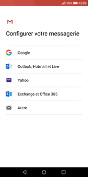 Huawei Mate 10 Pro - E-mail - Configuration manuelle (gmail) - Étape 7