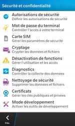 BlackBerry Z10 - Sécuriser votre mobile - Activer le code de verrouillage - Étape 5