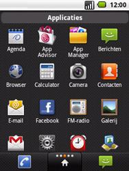 LG P350 Optimus Me - Internet - hoe te internetten - Stap 2