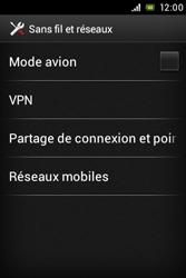 Sony ST23i Xperia Miro - Internet - activer ou désactiver - Étape 5