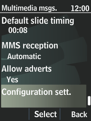 Nokia 301-1 - MMS - Automatic configuration - Step 10