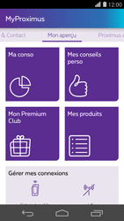Huawei Ascend P7 - Applications - MyProximus - Étape 12