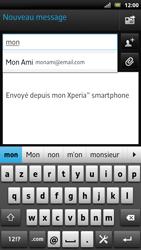Sony LT22i Xperia P - E-mail - envoyer un e-mail - Étape 5