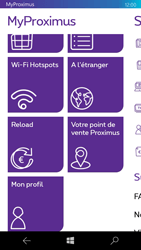 Microsoft Lumia 550 - Applications - MyProximus - Étape 18
