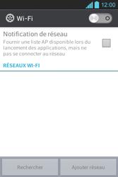 LG E610 Optimus L5 - Wifi - configuration manuelle - Étape 4