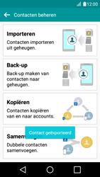 LG K4 - Contacten en data - Contacten kopiëren van toestel naar SIM - Stap 11