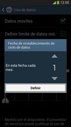 Samsung Galaxy S4 - Internet - Ver uso de datos - Paso 7
