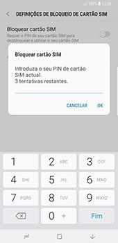 Samsung Galaxy Note 8 - Android Oreo - Segurança - Como ativar o código PIN do cartão de telemóvel -  8