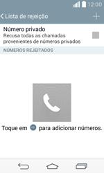 LG D390n F60 - Chamadas - Como bloquear chamadas de um número específico - Etapa 8
