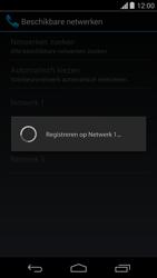 Motorola Moto G - Netwerk selecteren - Handmatig een netwerk selecteren - Stap 10
