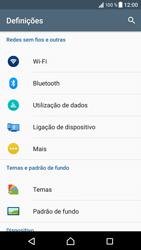 Sony Xperia XZ - Android Nougat - Internet no telemóvel - Como ativar os dados móveis -  4