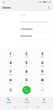 Huawei P20 Pro Android Pie - Messagerie vocale - Configuration manuelle - Étape 4