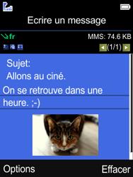 Mobiwire Leyti - Contact, Appels, SMS/MMS - Envoyer un MMS - Étape 16