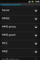 Sony ST27i Xperia Go - MMS - handmatig instellen - Stap 10