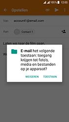 ZTE Blade V8 - E-mail - E-mails verzenden - Stap 11