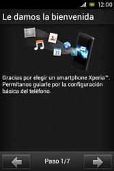 Sony Xperia E - Primeros pasos - Activar el equipo - Paso 2