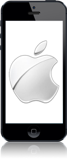 Apple iPhone 5 (Model A1429) met iOS 8