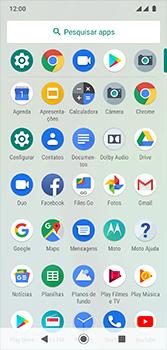 Motorola Moto G7 - Rede móvel - Como selecionar o tipo de rede adequada - Etapa 3