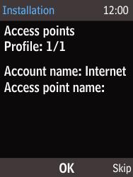 Nokia 220 - Internet - Automatisch instellen - Stap 5