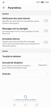 Huawei P20 Lite - SMS - configuration manuelle - Étape 5