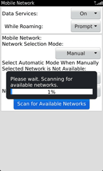 BlackBerry 9860 Torch - Network - Usage across the border - Step 7